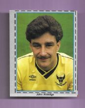 Oxford United John Aldridge Eire (MFY86)
